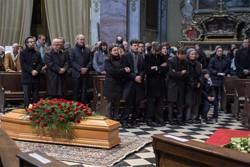 Ai funerali di Parenzan