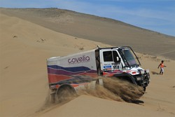 Mutti Marino, di Trescore, al via della Dakar 2014 in camion