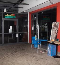 La sala biliardo della pizzeria bar Collo