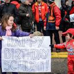 Nessun imprudenza di Schumi  E la velocità non era eccessiva