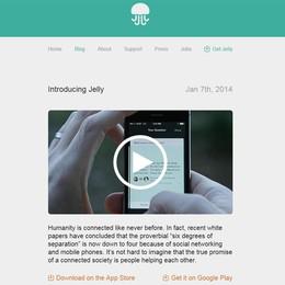 Jelly, arriva l'app  per ricerche social