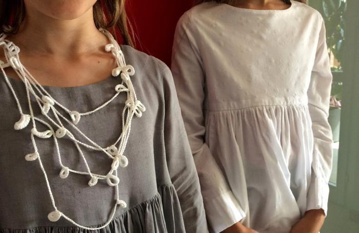 Nei miei panni, due capi della stilista Cristina Gamberoni