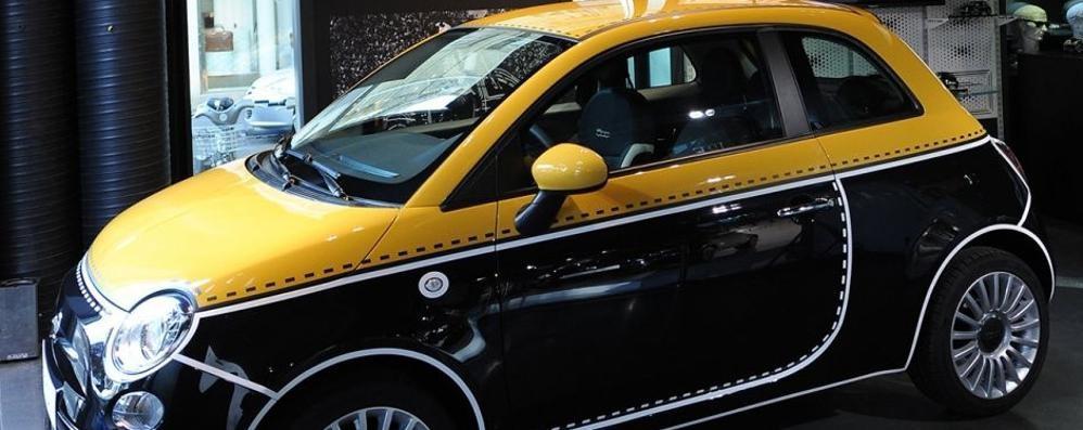 «500 Couture» Fiat omaggio al made in Italy