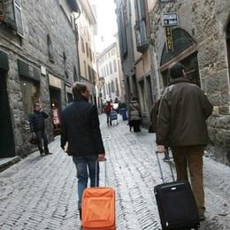 Bergamo e il turismo Di rendita non si vive più