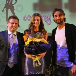 Da sinistra: Matteo DeSanctis, Sara Pagliaroli e Rolando Bianchi