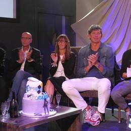 Ecco la giuria. Da sinistra, Teo Mangione, Sergio Villa, Fabiana Tinaglia, Flavio Carera e Rolando Bianchi
