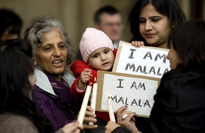 La campagna per il Nobel a Malala: la ragazza combatte per portare l'istruzione a tutte le bimbe pachistane
