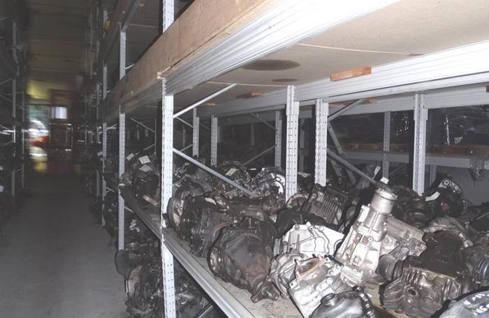 Motori e parti di veicoli ritrovati a Zanica