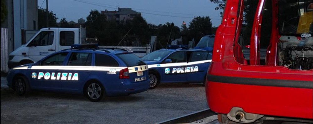 Duecento auto rubate e fatte a pezzi Un giro d'affari da 2 milioni di euro
