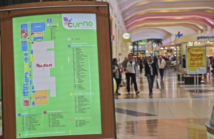 Il Centro commerciale di Curno