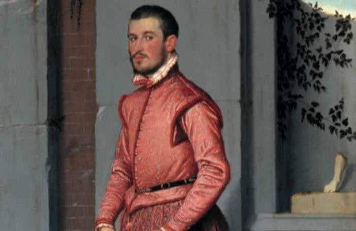 IIl Cavaliere in Rosa, celebre opera del Moroni
