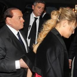 L'arrivo di Berlusconi con Francesca Pascale
