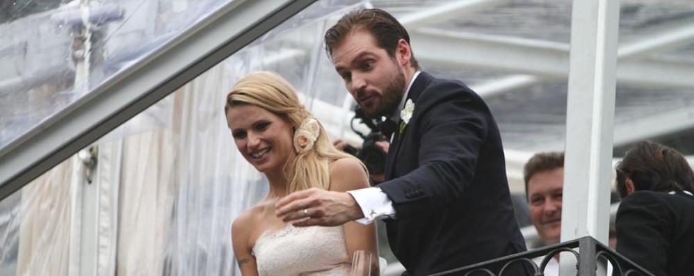 Michelle e Tomaso sposi in Città Alta Anche Berlusconi a Palazzo Trussardi