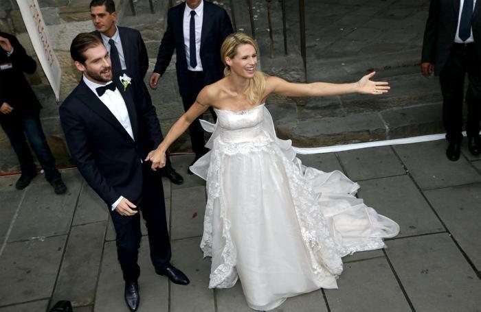 Tomaso e Michelle sposi