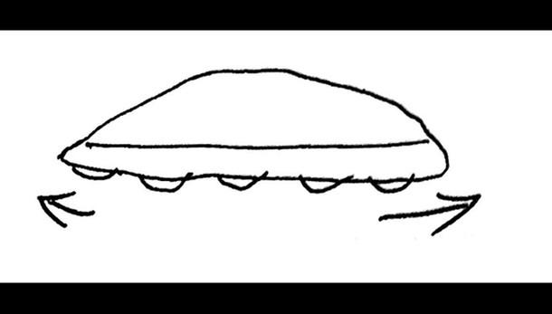 Ufo avvistato sulle Alpi Apuane