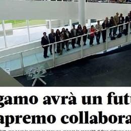 Condividere il futuro:  imperativo per Bergamo