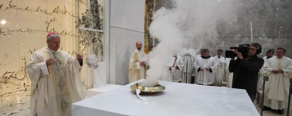 La nuova carezza di Papa Giovanni «Questa chiesa abbracci tutti i malati»