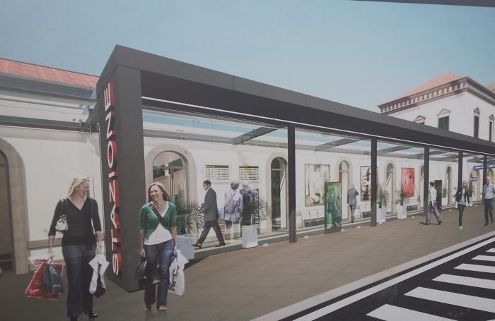 Ecco come sarà la stazione a lavori terminati