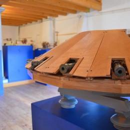 Oneta, le macchine di Leonardo inaugurano il museo etnografico