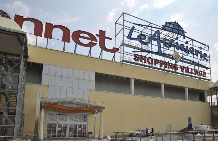 Il centro commerciale Le Acciaierie a Cortenuova