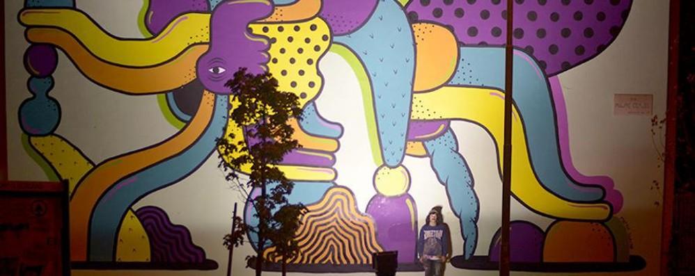 Coloriamo la città con l'arte Due murales con Pigmenti