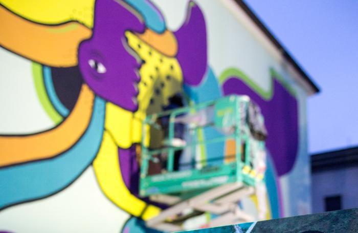Pigmenti, i murales di Lullini