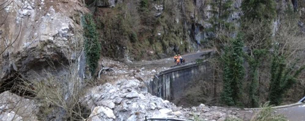 Frana in Valle Serina, c'è l'intesa L'appalto dei lavori entro l'anno