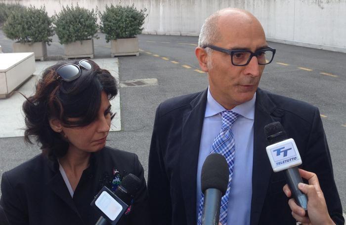 Gli avvocati di Massimo Giuseppe Bossetti: Silvia Gazzetti e Claudio Salvagni