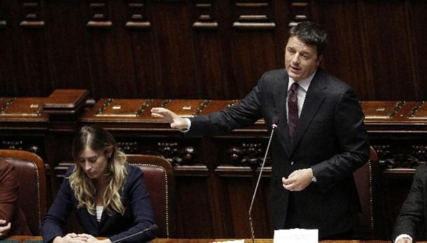 Renzi, rinnovabili al 27 per cento