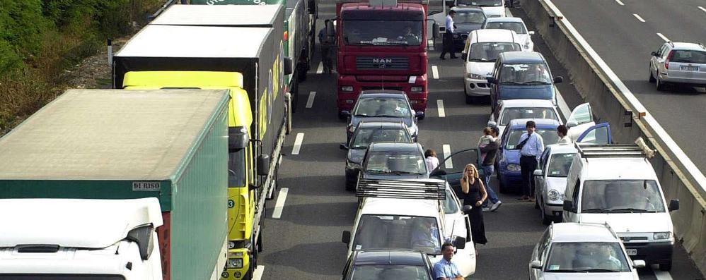 Grave incidente in autostrada Circolazione tornata normale