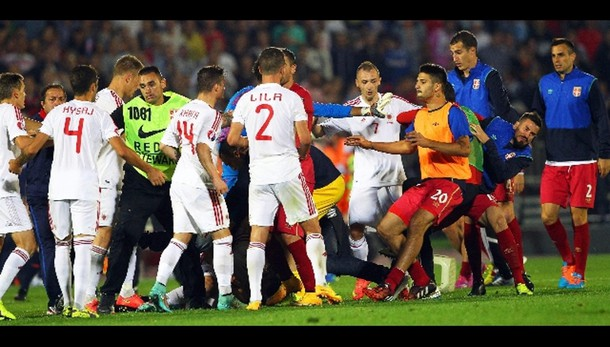 Serbia-Albania, a serbi 3-0 ma -3 punti