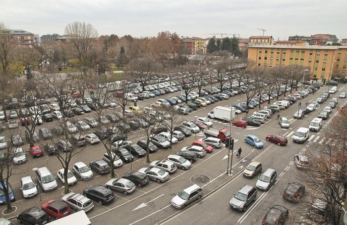 Il parcheggio della Malpensata