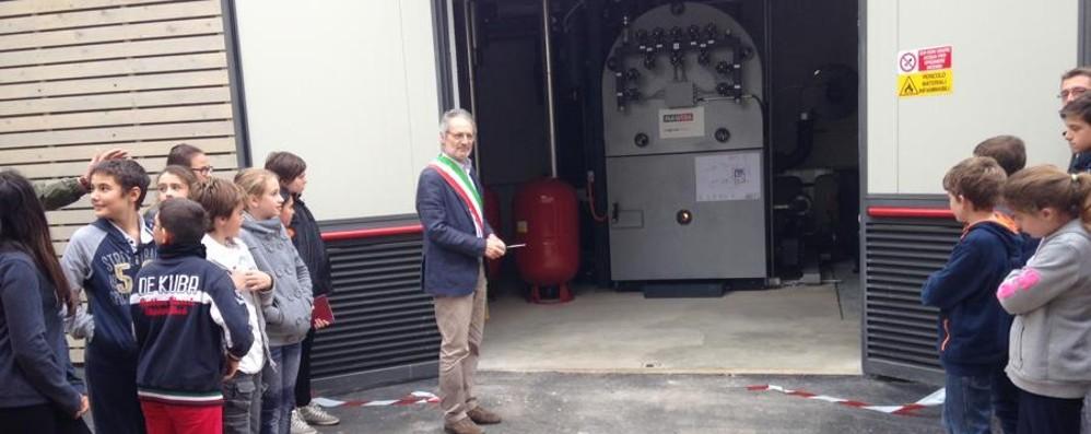 Centrale a biomasse legnose inaugurata ad Almenno San Salvatore