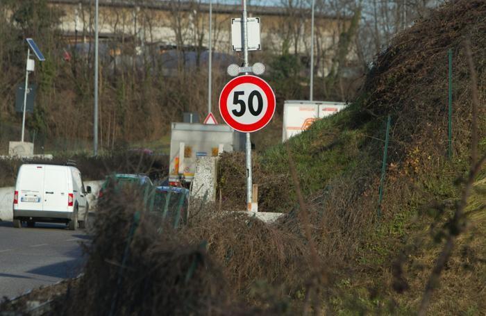 Asse interurbano e il limite di velocità