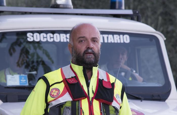 Raffaello Colombo,  coordinatore dei soccorsi
