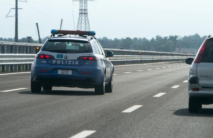 Controlli della polstrada lungo l'A4