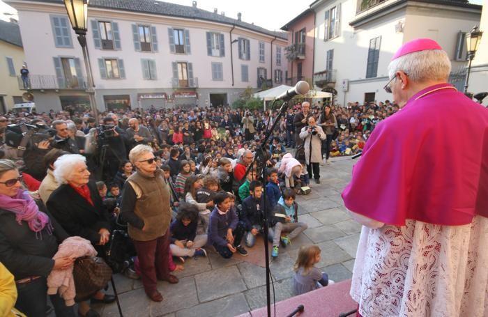 Il vescovo Malvestiti a Lodi
