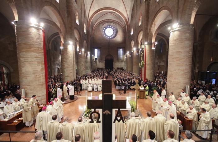 La prima Messa a Lodi del vescovo Malvestiti