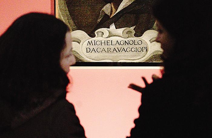 Il celebre autoritratto del Caravaggio