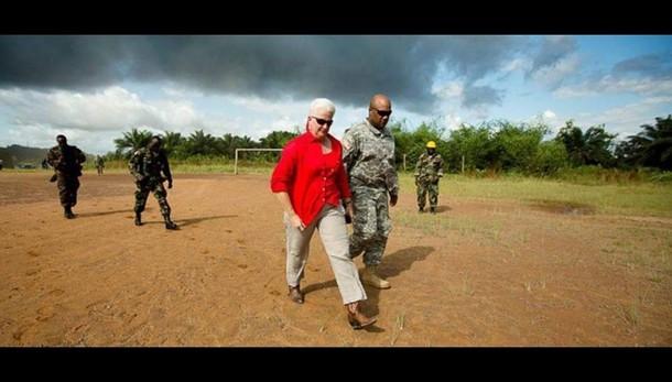 Ebola: gen. Willians, stiamo benissimo