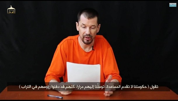 Isis: nuovo video Cantlie, sono a Kobane