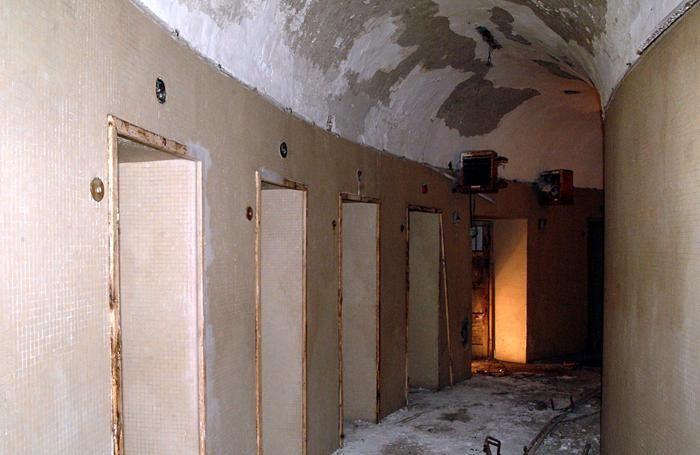 L'interno dell'ex Diurno in una foto di una decina d'anni fa