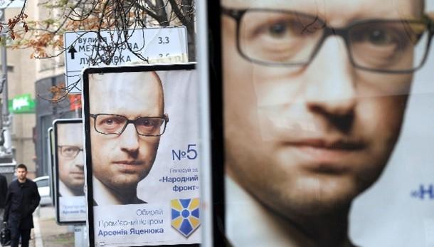 Ucraina: dati parziali, Iatseniuk primo