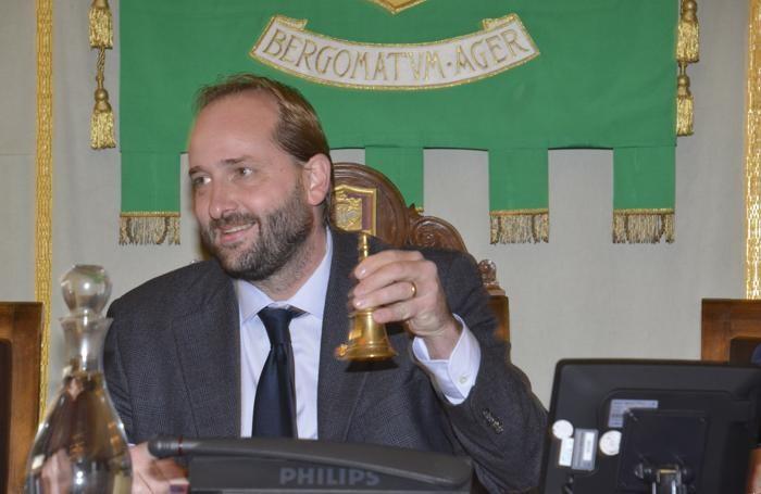 Il presidente della Provincia Matteo Rossi