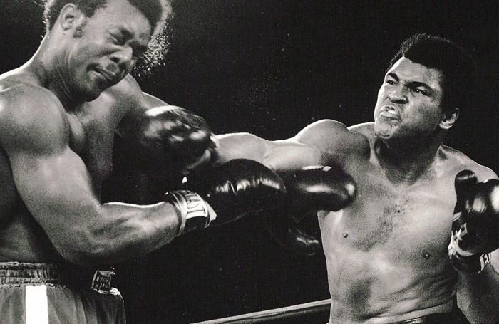Kinshasa, 30 ottobre 1974, ottava ripresa: il diretto di Muhammad Alì colpisce George Foreman in pieno volto. È la fine di The Match