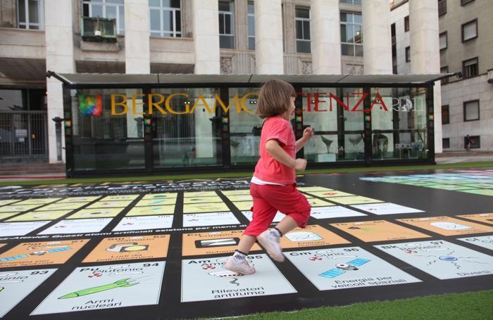 BergamoScienza, grande spazio ai bambini
