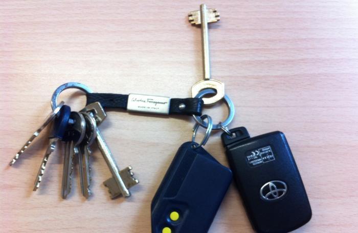 Oggetti smarriti: un mazzo di chiavi