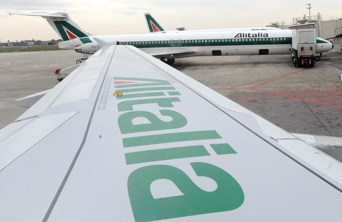 Aerei Alitalia a Linate