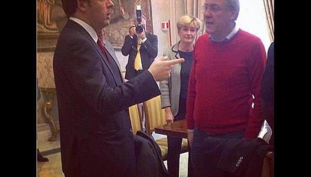 Ast:Renzi incontra delegazione sindacale