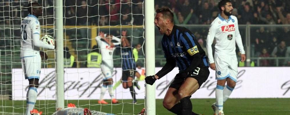 Atalanta-Napoli finisce 1-1 Sportiello para rigore di Higuain al 92'